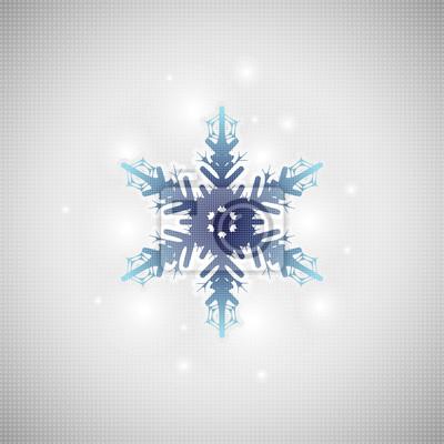 Les flocons de neige fond