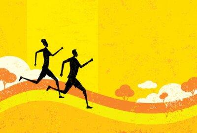Papiers peints Les gens de jogging