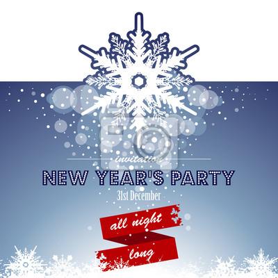 Les invitations à la fête du Nouvel An