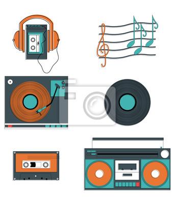 Les joueurs et les composants Musique
