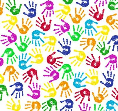 Papiers peints Les mains des enfants