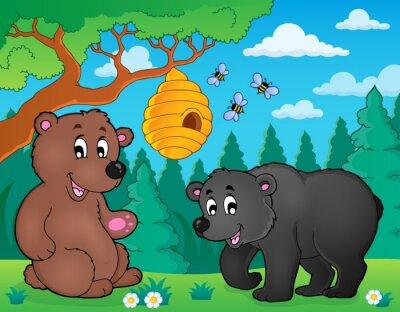 Papiers peints Les ours dans la nature thème image 4