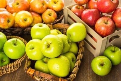 Papiers peints Les pommes biologiques