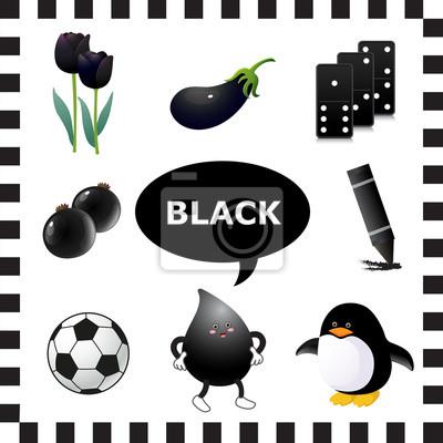 Couleur Qui Sont Des Choses les savoir-noirs couleur des choses qui sont de couleur noire papier
