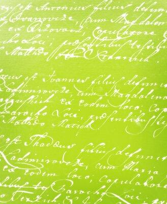 Papiers peints lettre manuscrite millésime