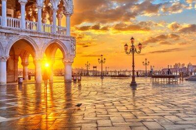 Papiers peints Lever à Venise