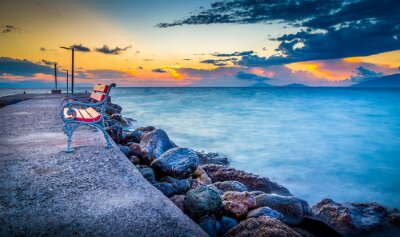 Papiers peints Lever de soleil sur l'île de Kos