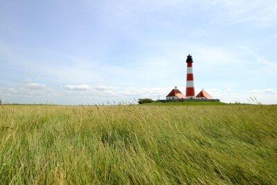 Papiers peints Lighthouse Westerhever - Mer du Nord