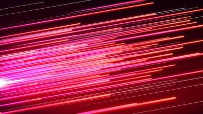 Papiers peints Ligne de vitesse rose et rouge