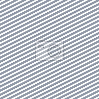 Lignes de rayures diagonales bleu et blanc motif vectorielle continue.