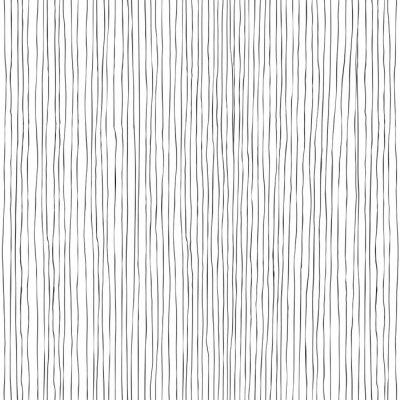 Papiers peints Lignes verticales sans soudure de motifs dessinés à la main