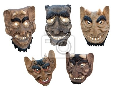 Lituaniens masques en bois