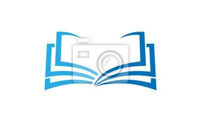 Papiers Peints Livre Education Logo