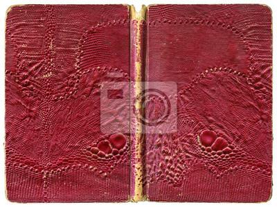 Papiers Peints Livre Ouvert Ou Cahier Couverture Vintage Dechiree Avec Cuir