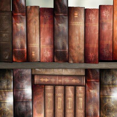 Papiers peints Livres anciens, bibliothèque
