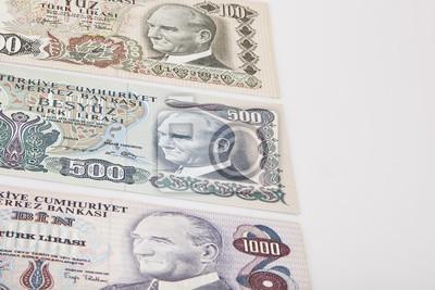 Livres Anciens Billets De Banque Mixtes Livre Turque Autour De