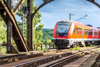 Papiers peints Locomotive électrique à Francfort
