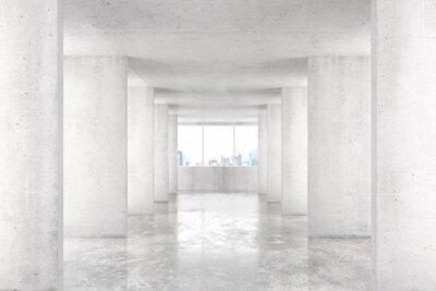 Papiers peints Loft, style, tunnel, beaucoup, murs, lumière, vide, bâtiment ...