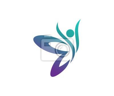 Papiers peints Logo de papillon