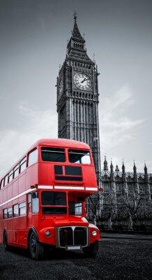 Papiers peints Londres bus und Big Ben