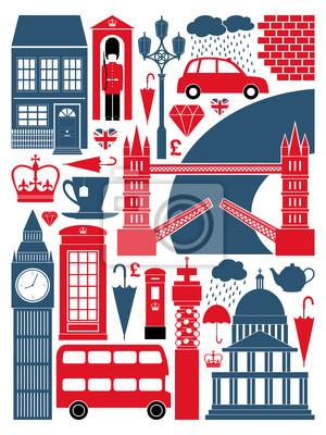 Londres symboles et monuments