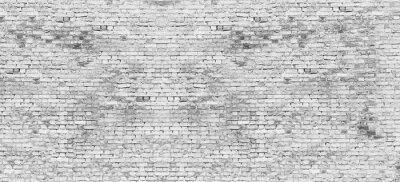 Papiers peints Long, blanc, brique, mur