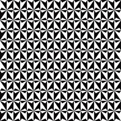 Losange Noir Et Blanc Papier Peint Papiers Peints Rhomb Seamless