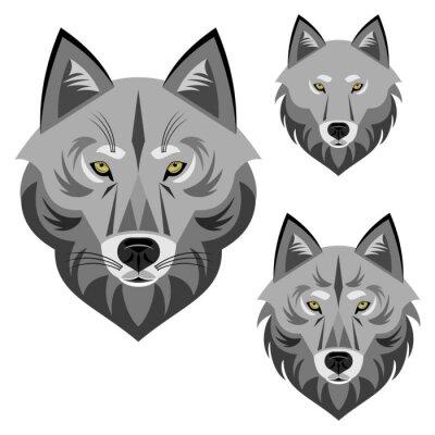 Papiers peints Loup