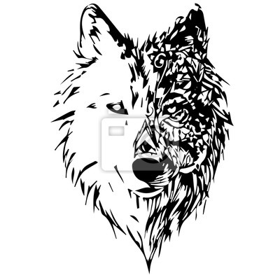 Papiers peints loups
