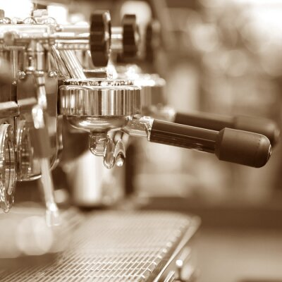 Papiers peints Machine à café expresso