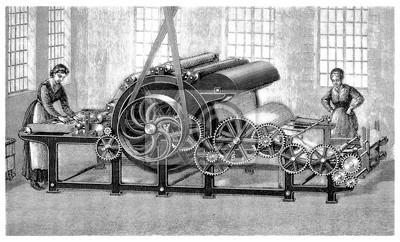 Papiers Peints Machine Industrie Textile