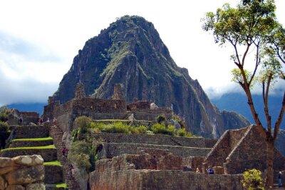 Papiers peints Machu Picchu et Huayna Picchu