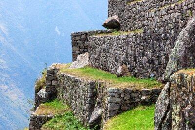 Papiers peints Machu Picchu, les vieux murs