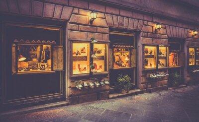 Papiers peints Magasin de chaussures en Toscane