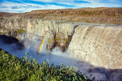 Papiers peints Magnifique cascade Dettifoss