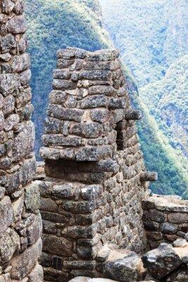 Papiers peints Maison dans la ville de Machu Picchu