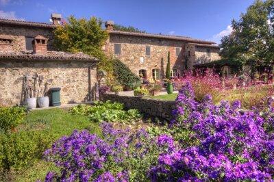 Papiers peints Maison de campagne toscane classique