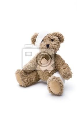 Papiers peints Malade Teddy