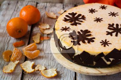 Mandarin gâteau de souffle