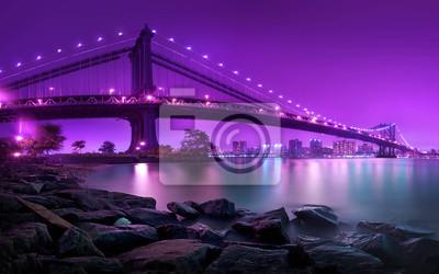Papiers peints Manhattan Bridge New York