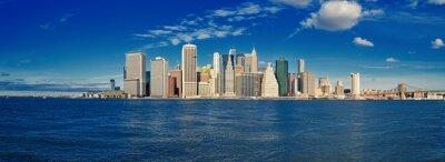 Papiers peints Manhattan sur une journée ensoleillée.