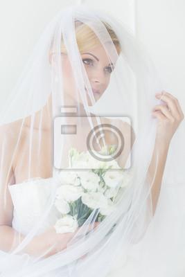 Papiers peints Mariage. Belle mariée