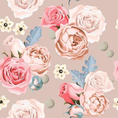 Papiers peints Mariage, fleurs, seamless