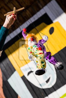 Marionnette marionnettiste