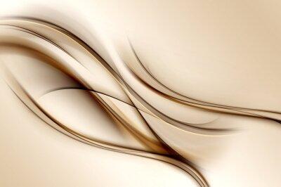 Papiers peints Marron, vagues, fond