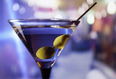 Papiers peints martini aux olives vertes