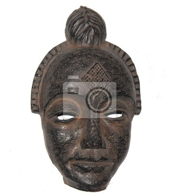 Masque africain voltigent