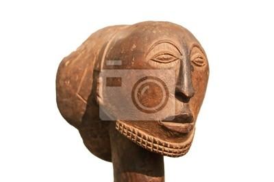 Masque en bois africain