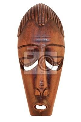 Masque en bois de cérémonie