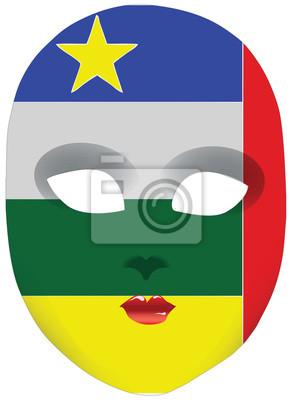 Masque République centrafricaine